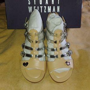 NIB Stuart Weitzman size 13Y  sandals.